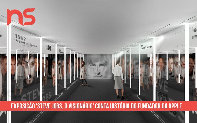 Exposição 'Steve Jobs, o visionário' conta história do fundador da Apple
