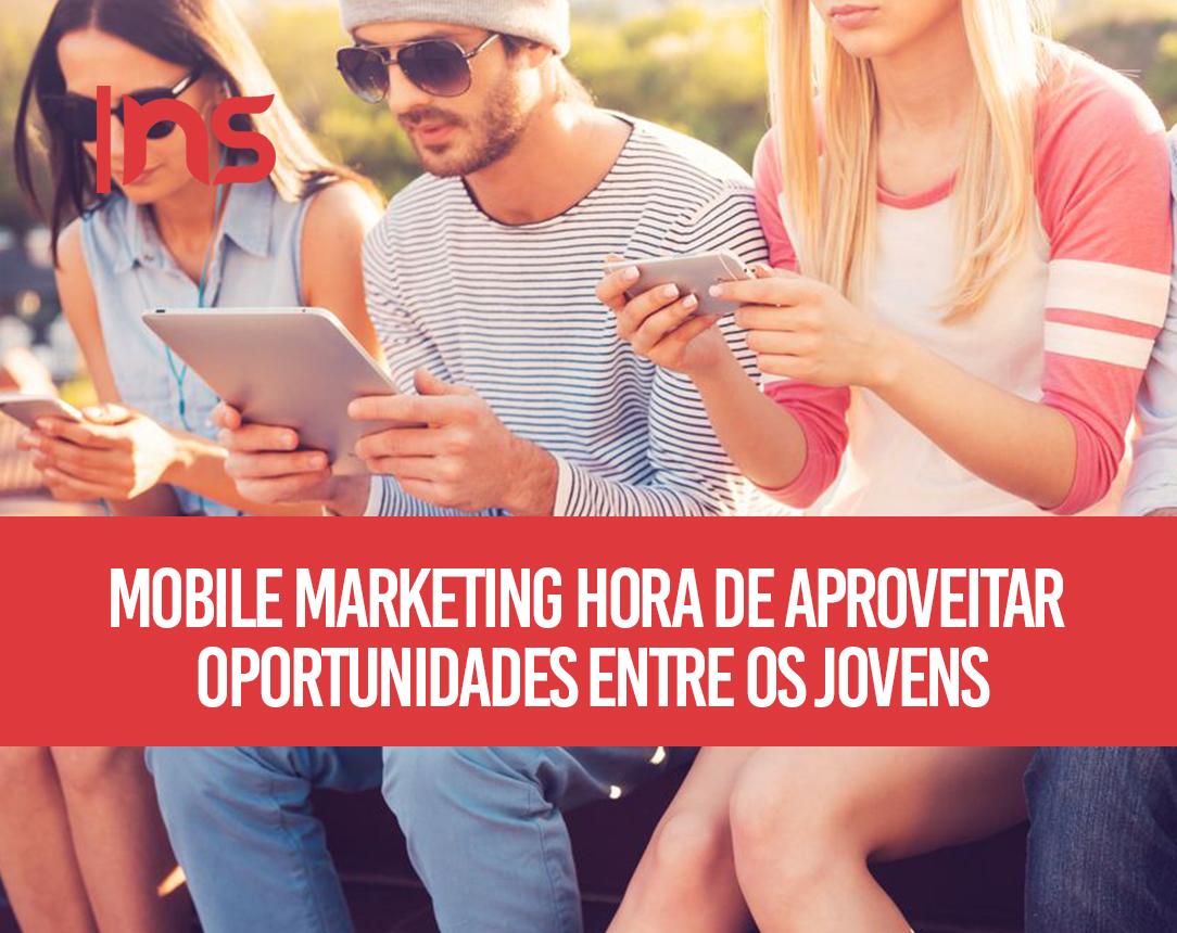 Mobile marketing: hora de aproveitar oportunidades entre os jovens!