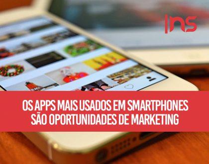 Os apps mais usados em smartphones são oportunidades de marketing?