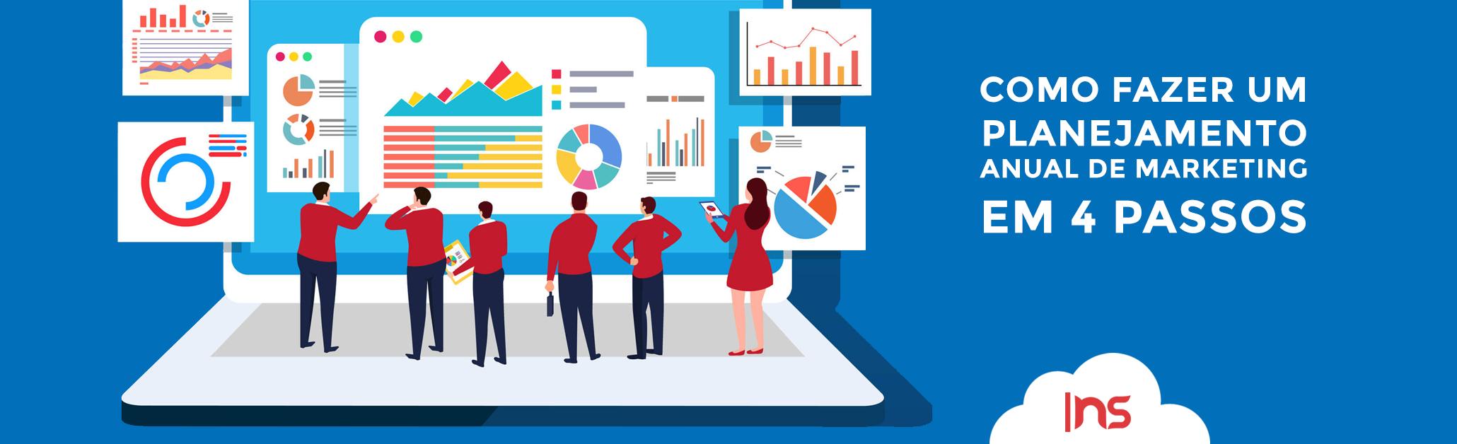 Aprenda como fazer um planejamento anual de marketing em 4 passos