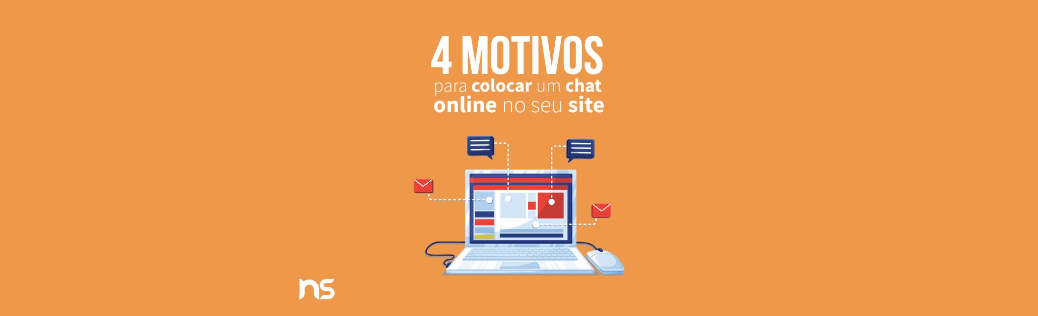 4 motivos para colocar um chat online no seu site